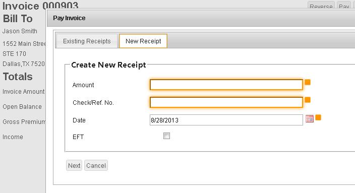 EZLynx Accounting - Screenshot 3