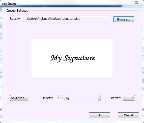 EZTip: Adding a Signature to ACORD® forms using Foxit
